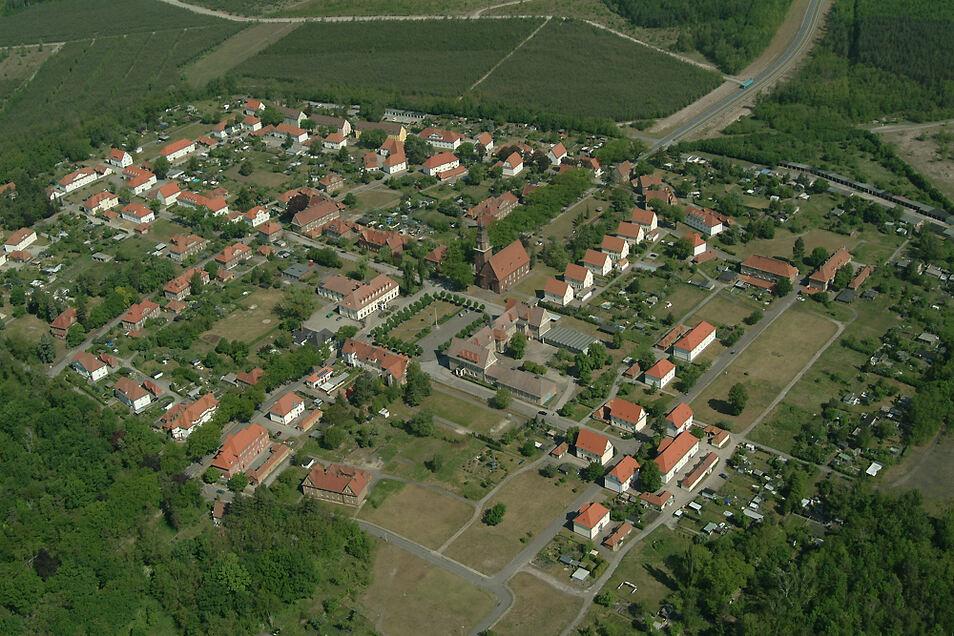 """Das Projekt """"Lausitzer Gartenstadt 2030"""" befasst sich mit der Gartenstadt Erika in Laubusch."""