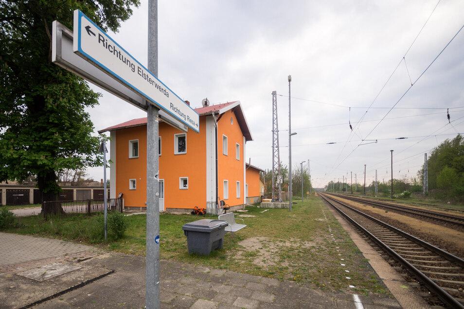 Bis 2022 soll der Bahnhof Gröditz barrierefrei sein. Es ist nicht das einzige Projekt im Landkreis.