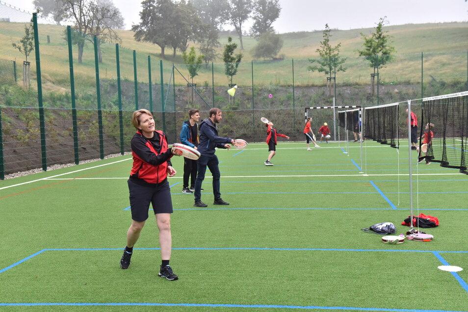 Vor allem die Tambourelli-Spieler werden den Platz nutzen - sie konnten bisher nur in der beengten Sporthalle trainieren.