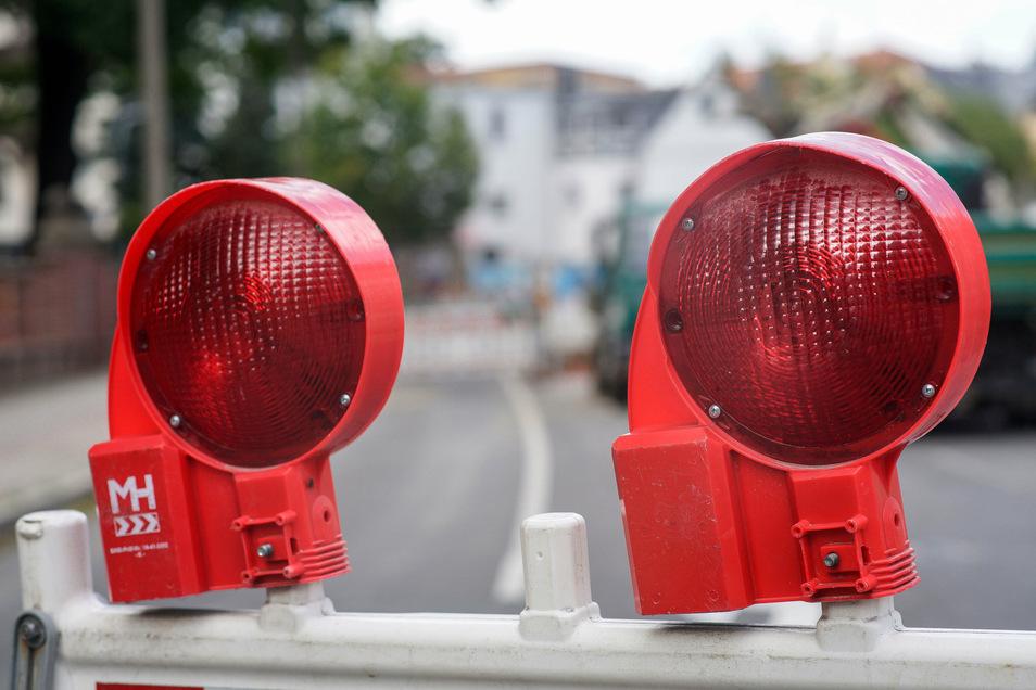 Eine neue Straßensperrung gibt es ab Montag in Bischofswerda.