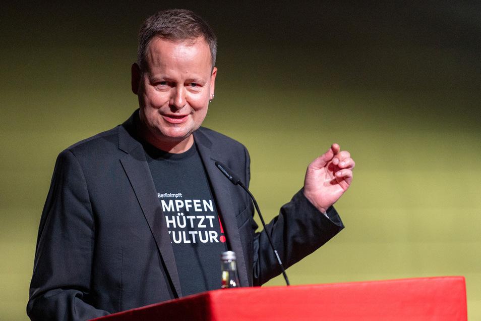 Klaus Lederer (Die Linke), Kultur- und Europasenator von Berlin.