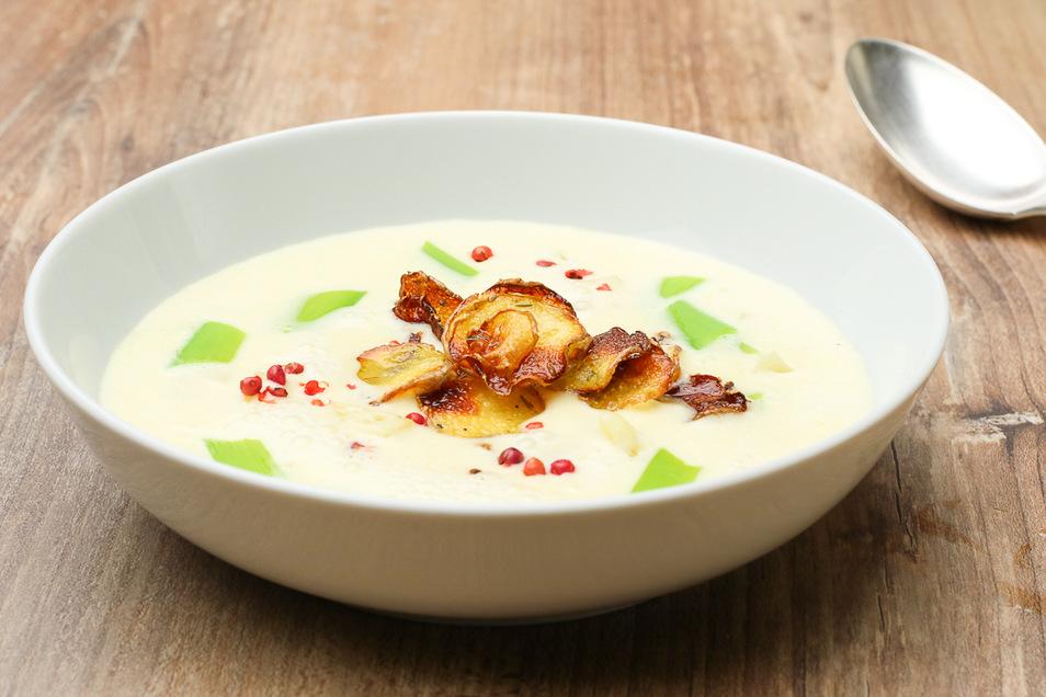 Kartoffelcremesuppe zeigt Thomas Sixt in 10 Varianten auf seinem Foodblog
