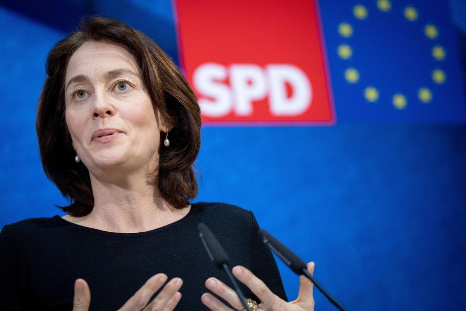 Katarina Barley will Vizepräsidentin des EU-Parlaments werden.