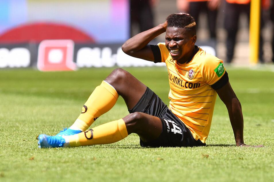 Bei Dynamo nur noch die Reserve der Reservisten und auf dem Transfermarkt nicht mehr gefragt: Moussa Koné hatte schon erfolgreichere Tage als Fußballer.