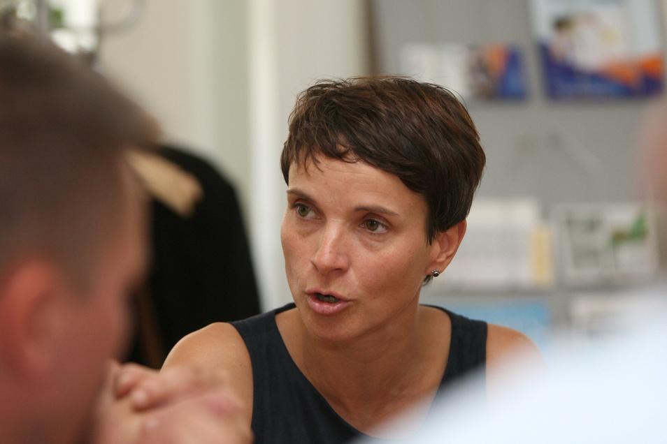 Überlegt noch: Ex-AfD-Chefin Frauke Petry schließt eine Kandidatur nicht aus.