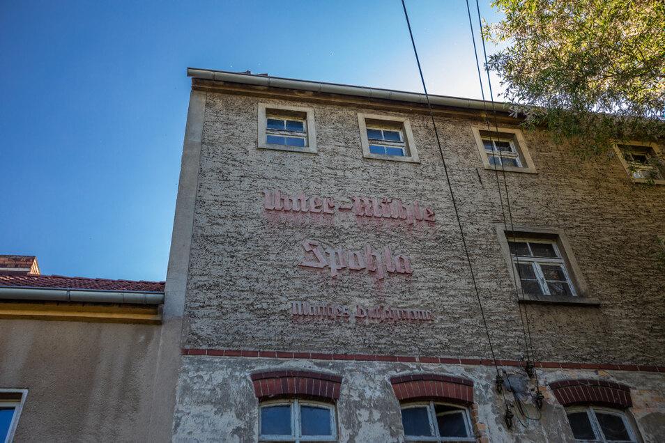 In der Unter-Mühle zu Spohla wurde bis Ende der 1950er Korn gemahlen.