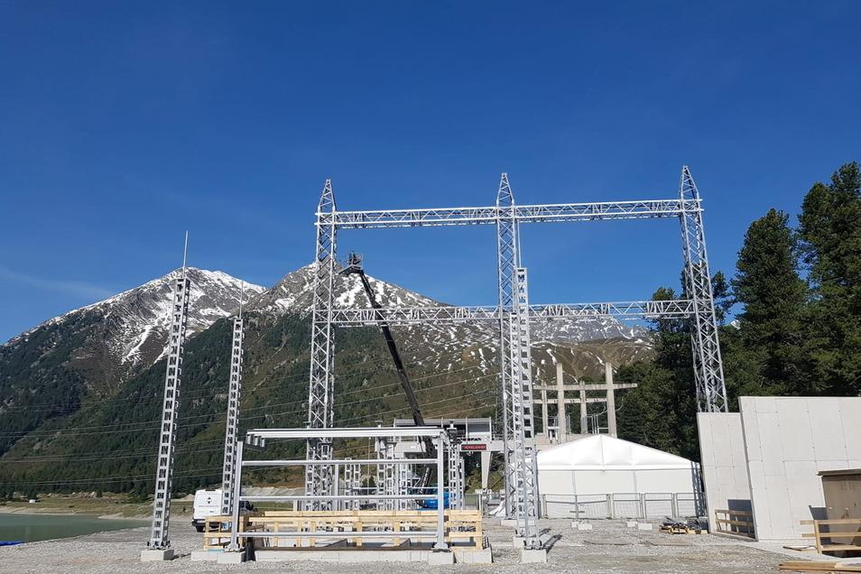 Umspannwerke für die Stromversorgung zu bauen, gehört ebenfalls zu den Aufgaben von HSN Industriemontagen.