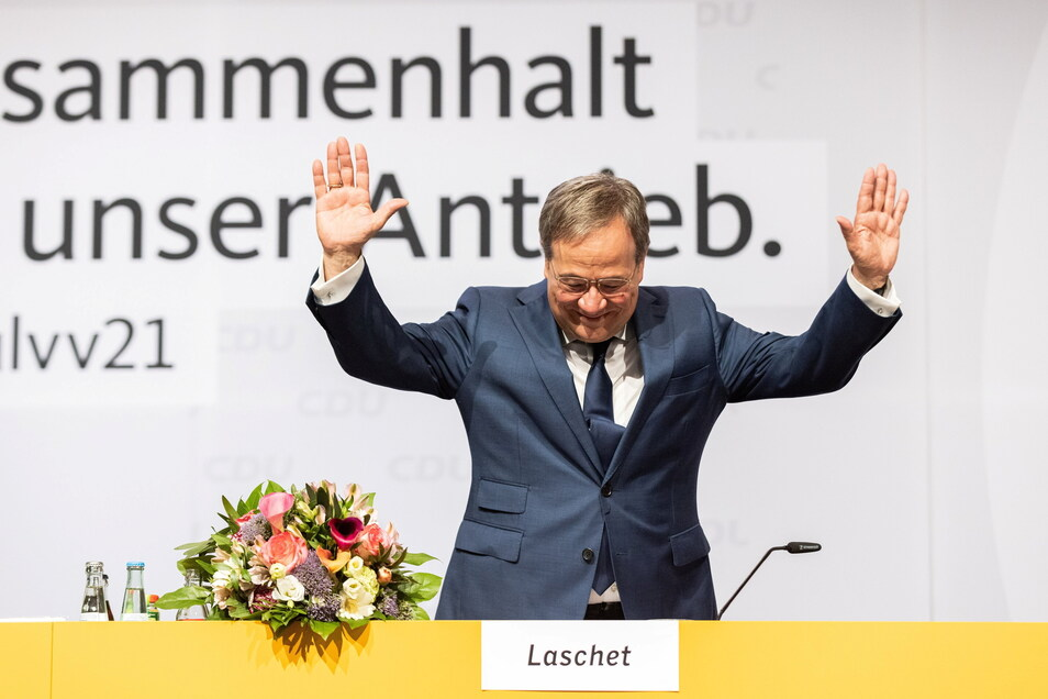 Armin Laschet, Ministerpräsident von Nordrhein-Westfalen und Vorsitzender der CDU