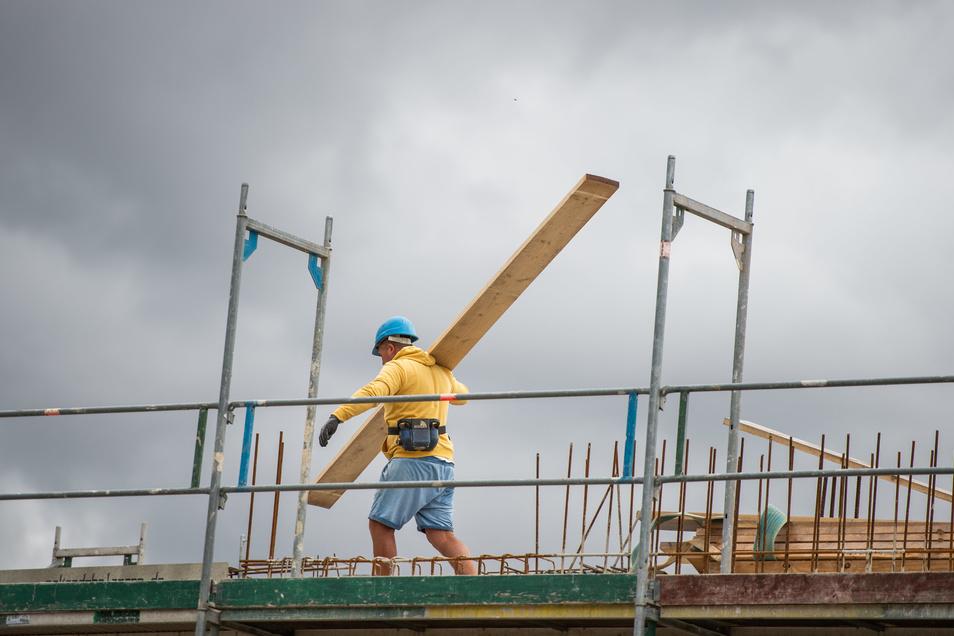 Bauarbeiten sind derzeit teurer - nicht nur in Deutschland.