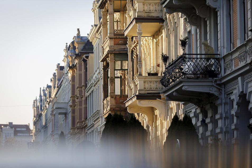 Die Augustastraße ist die vielleicht schönste Straße in der Görlitzer Gründerzeitstadt. Hier leben viele Menschen in Eigentumswohnungen.