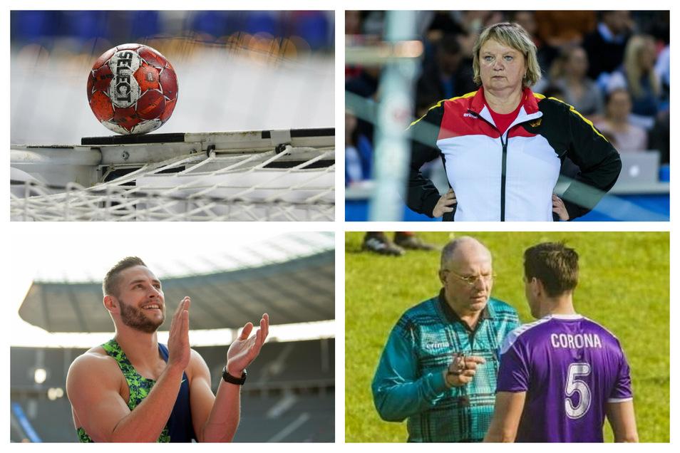 Der Sport-Freitag und seine Protagonisten: Der Handball an sich, Turntrainerin Frehse, Speerwerfer Vetter und ein Verein namens Corona.