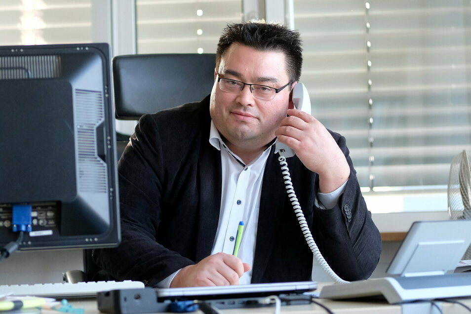 Hat mit seinen rund 2.500 Mitarbeitern aktuell einiges in den Griff zu bekommen: Frank Ohi, Geschäftsführer der Meißner Elblandkliniken.