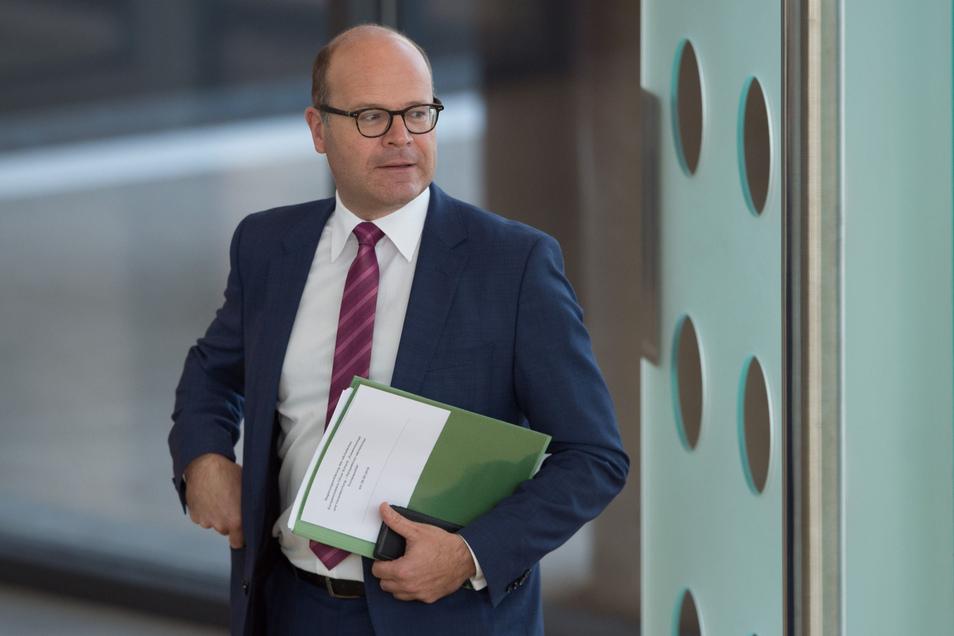 Oliver Schenk (CDU), Minister für Bundes- und Europaangelegenheiten in Sachsen.