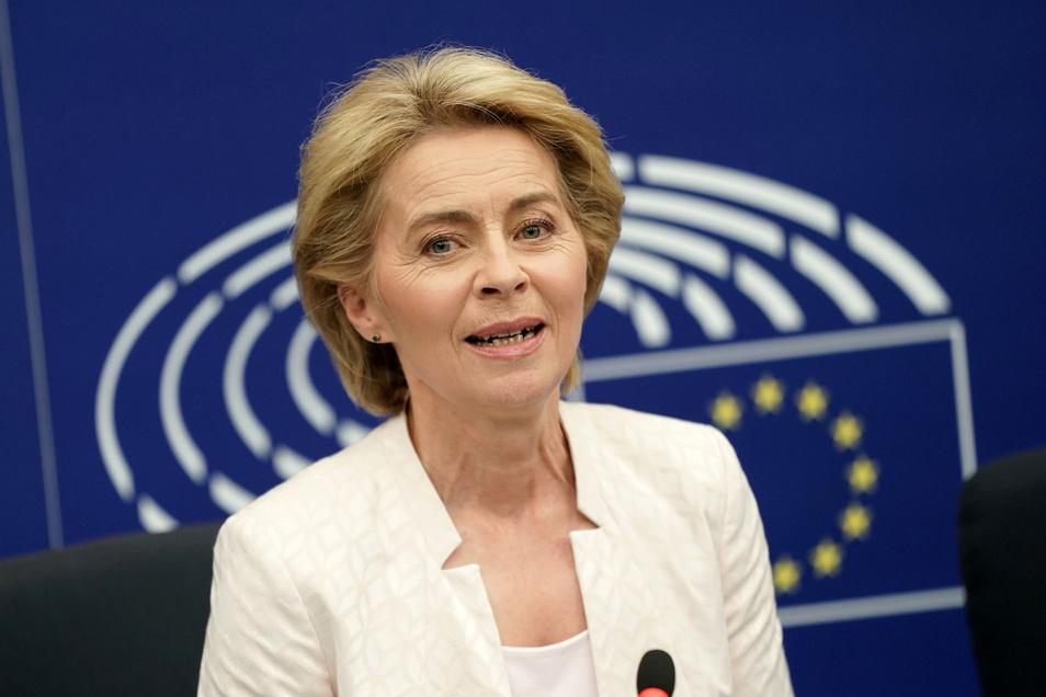 Die künftige EU-Kommissionspräsidentin Ursula von der Leyen will den Umgang mit Asylbewerbern in der EU reformieren.