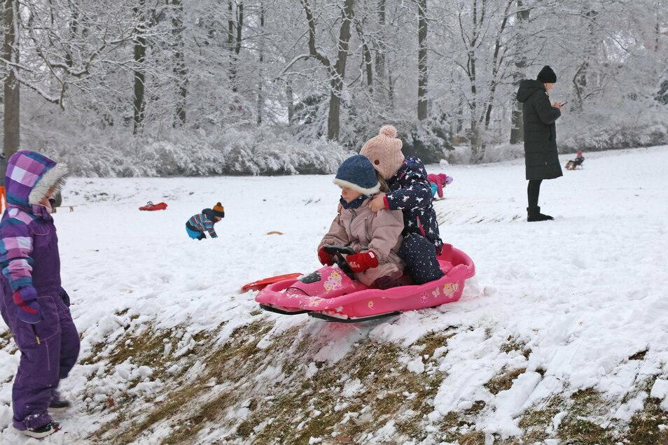 Der Schnee brachte zumindest etwas Bewegung in den Corona-Alltag. Schrittweise soll nun das Training wieder beginnen.