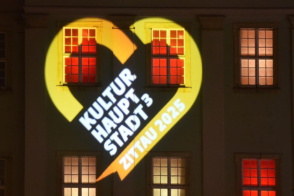 Das Herz ist zum Symbol für die  Zittauer Kulturhauptstadtbewerbung geworden.