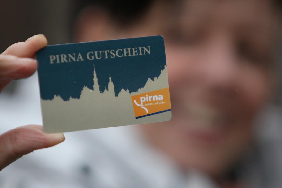 Gutschein-Aktion in Pirna: Über 2.200 Stück wurden bislang verkauft.