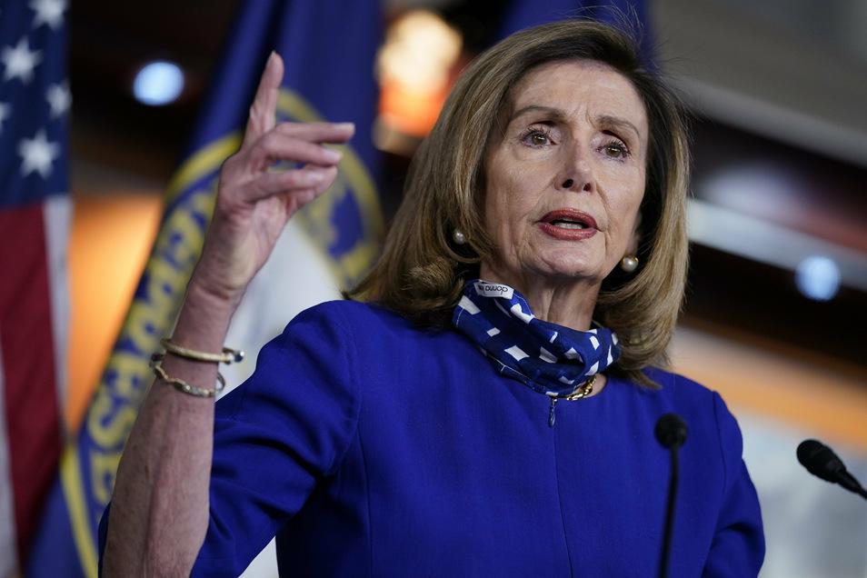 Immer gut frisiert: Nancy Pelosi, die Sprecherin des Repräsentantenhauses, hat sich nun Ärger eingehandelt.