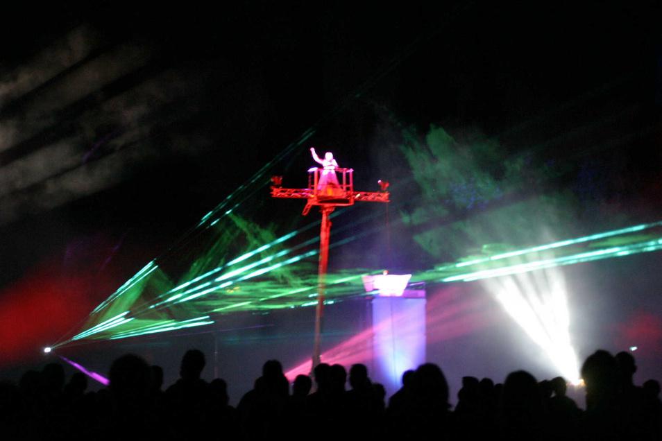 Keine Lichtshow, keine Konzerte - das Großenhainer Sommerfest fällt ersatzlos aus.