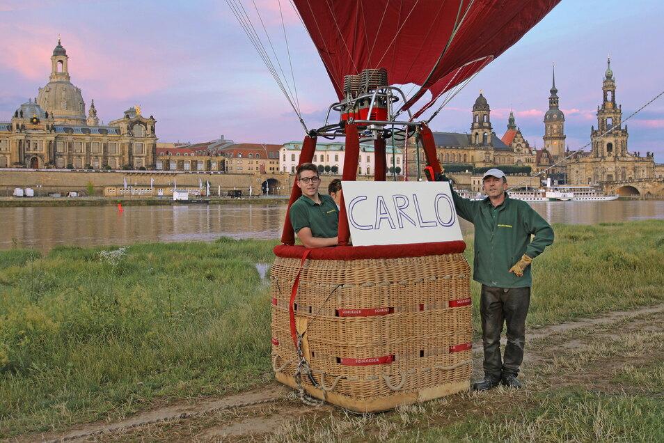 Am 11. Juli 2021 wurde der neueste Ballon der Ballon & Luftschiff Sachsen mit Sitz im Haselbachtal bei Kamenz auf den Namen Carlo getauft. Er trägt das Kennzeichen: D-OSSS, hat eine Hüllengröße von 3400m³ und kann maximal 2 bis 4 Passagiere transportieren