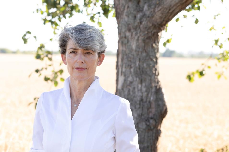 Judith Faller-Moog, die Gründerin und Inhaberin der Ölmühle in Klappendorf.