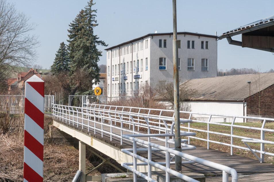 Die Grenzbrücke in Ostritz wird von vielen Dieben als Fluchtweg benutzt.