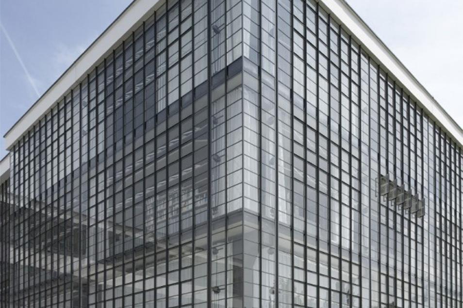 Beeindruckend: Das Bauhaus selbst. Es steht in Dessau.