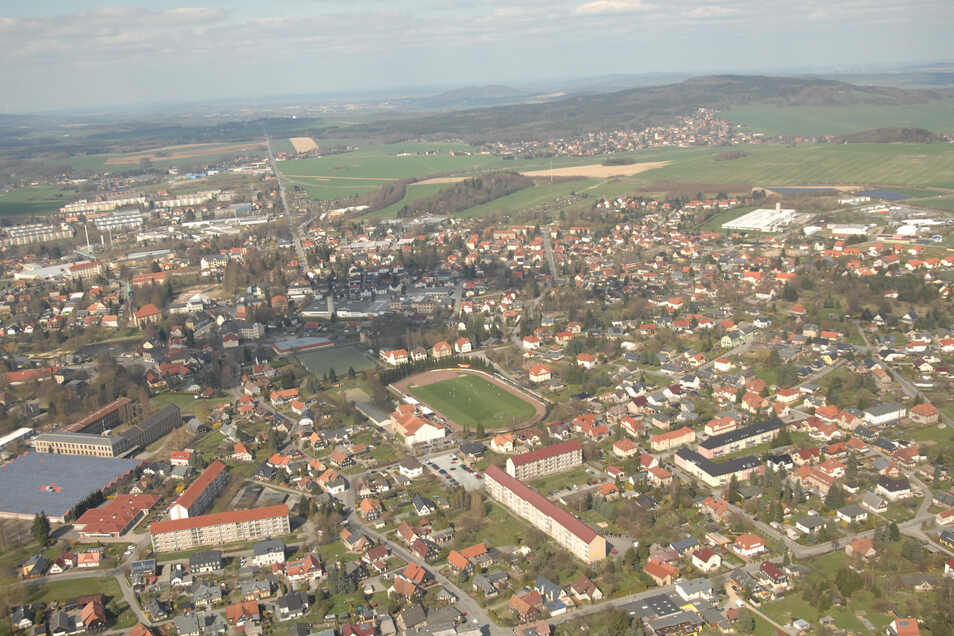 Blick auf die Oberlandstadt, die nun voll auf Öko setzt.