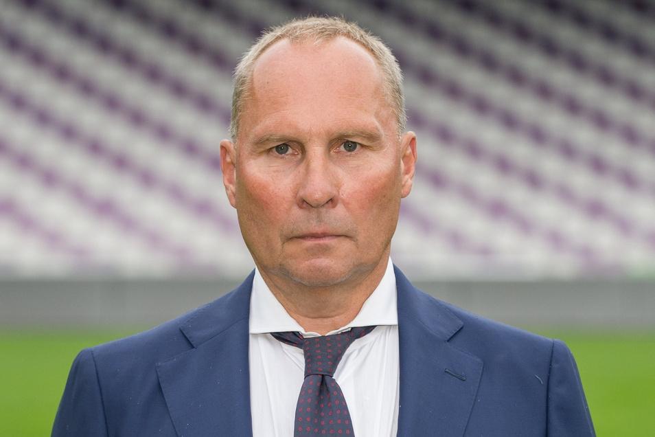 Der Präsident des FC Erzgebirge Aue, Helge Leonhardt, hat in der Coronakrise eine klare Haltung.