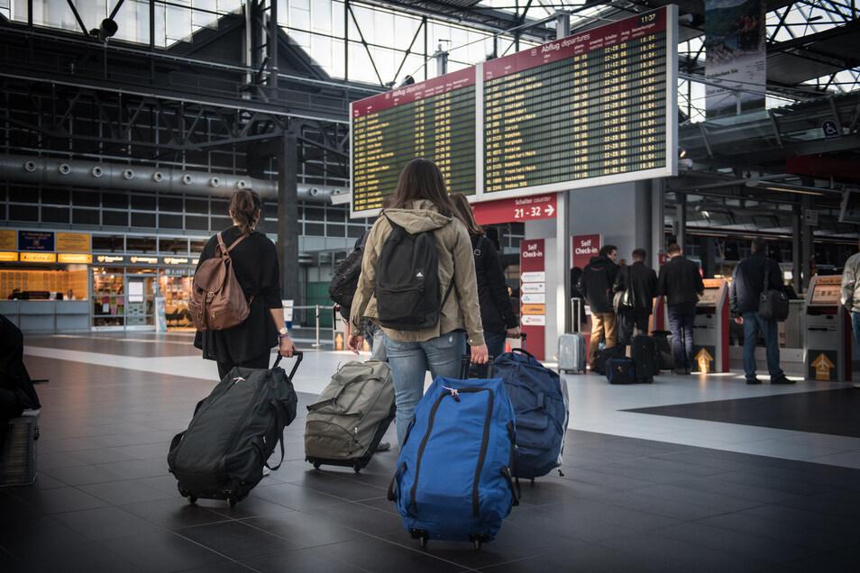 Vom Flughafen in Dresden starten vor allem Flieger zu nationalen und innereuropäischen Zielen.