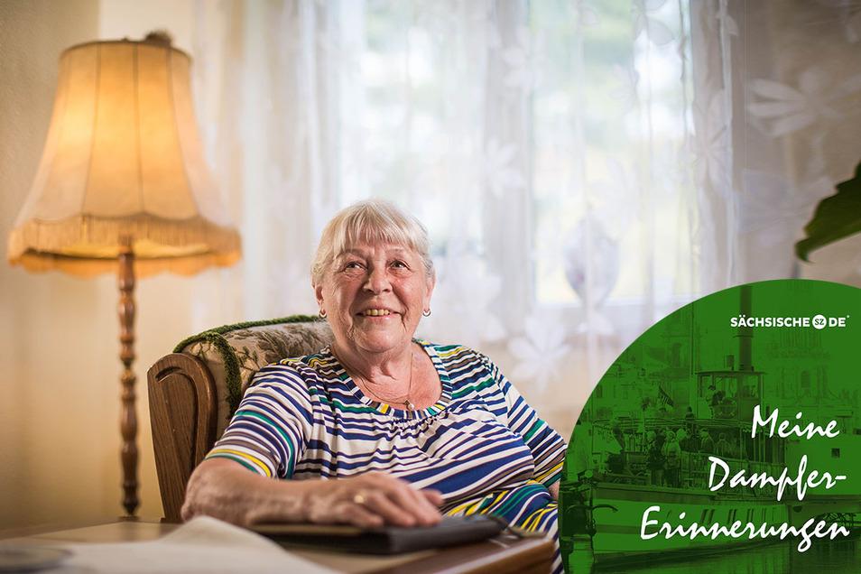 Monika Hengst brachten die Dresdner Dampfer einst zu den Ferienspielen in die Heide.