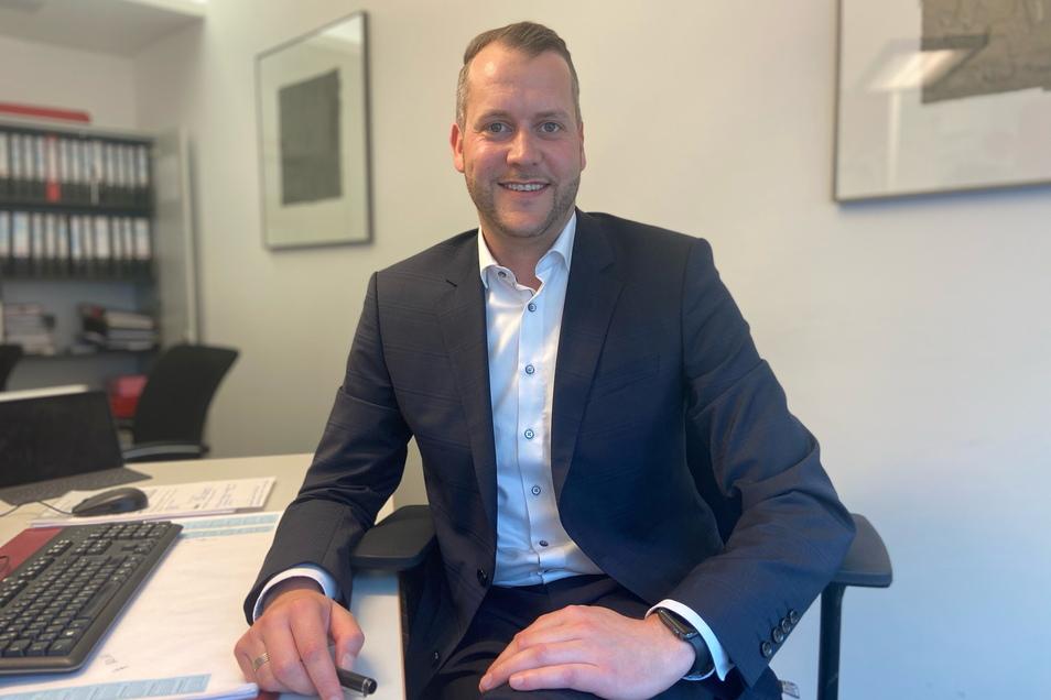 Der 37-jährige Sven Gleißberg möchte Bürgermeister in Glashütte werden. Rückendeckung für die Bewerbung gab es jetzt von der CDU und aus seinem Heimatort.
