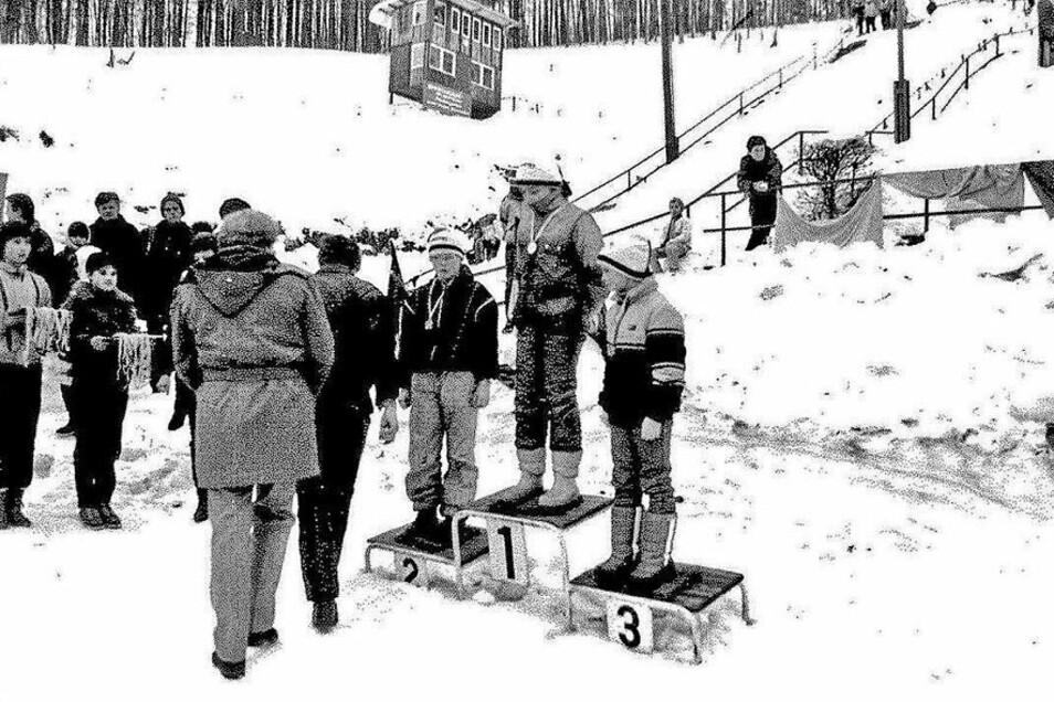Die Sebnitzer Schanzen waren Jahrzehnte lang ein Treffpunkt für junge Skispringer aus der Region.