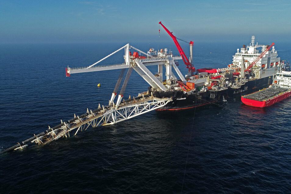 Das Projekt Nord Stream 2 wird vor allem von den USA angegriffen.