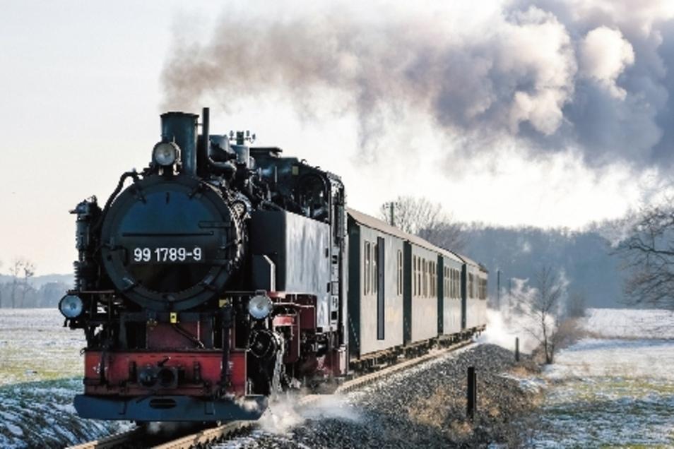 Mehr Fahrgäste bei den Schmalspurbahnen.
