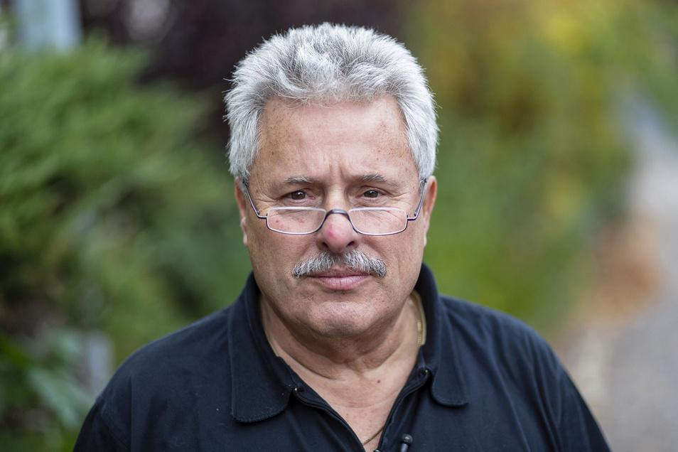Jürgen Heinzmann ist Vorsitzender der Regionalgruppe Sachsen im Verein der Direktversicherungsgeschädigten.