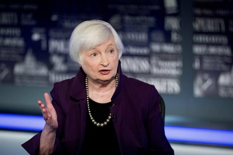 Janet Yellen stand von 2014 bis 2018 an der Spitze der Federal Reserve. Nun soll sie in der Regierung Bidens das Finanzministerium leiten.
