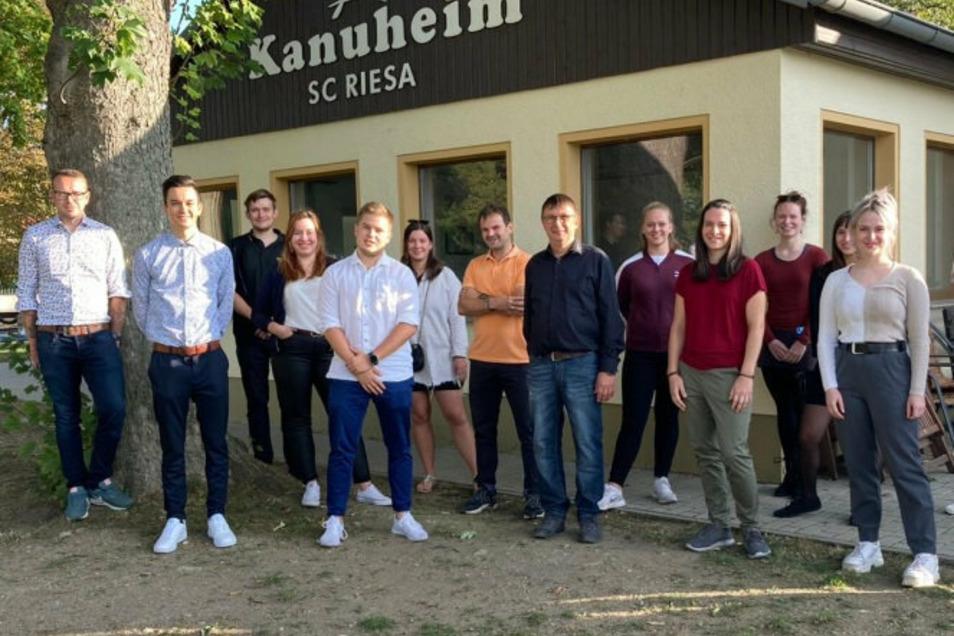 Im Kanu-Heim des SC Riesa wurde der Leo Club Riesa vor Kurzem gegründet.