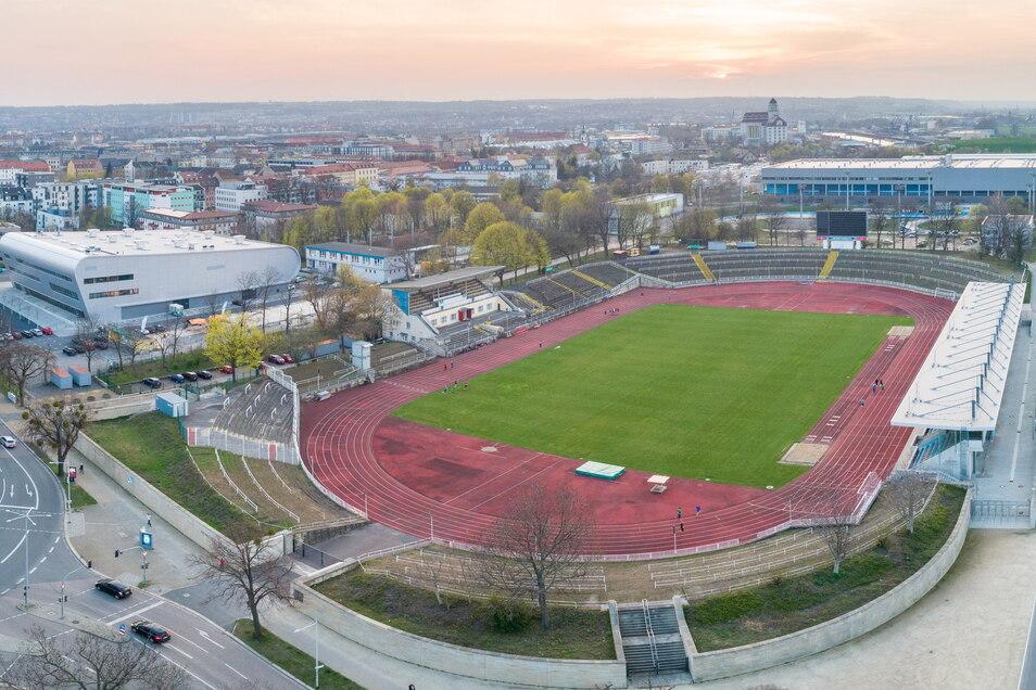Das Heinz-Steyer-Stadion soll zu einer modernen Sport- und Veranstaltungsarena werden. Dafür bekommt Dresden Fördergeld.