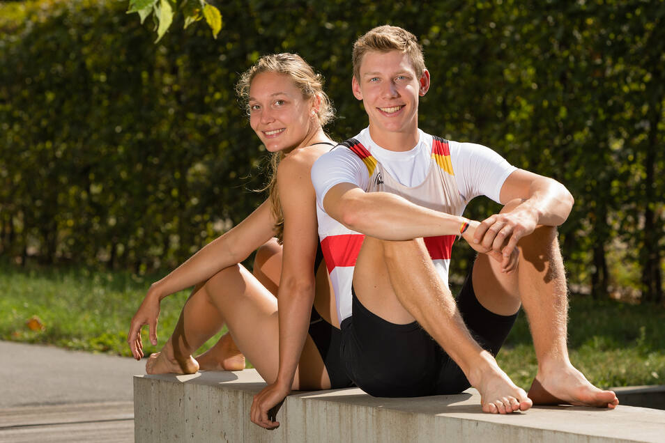 Leonie und Elrond Kullmann sindim Wasser sehr erfolgreich – sie als Schwimmerin, er als Ruderer.