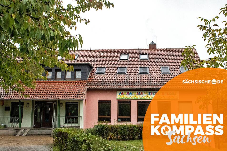 """Beim Familienkompass gab es von fünf Müttern Kritik zur Arbeit in der Kita """"Jahnataler Wiesenstrolche""""."""