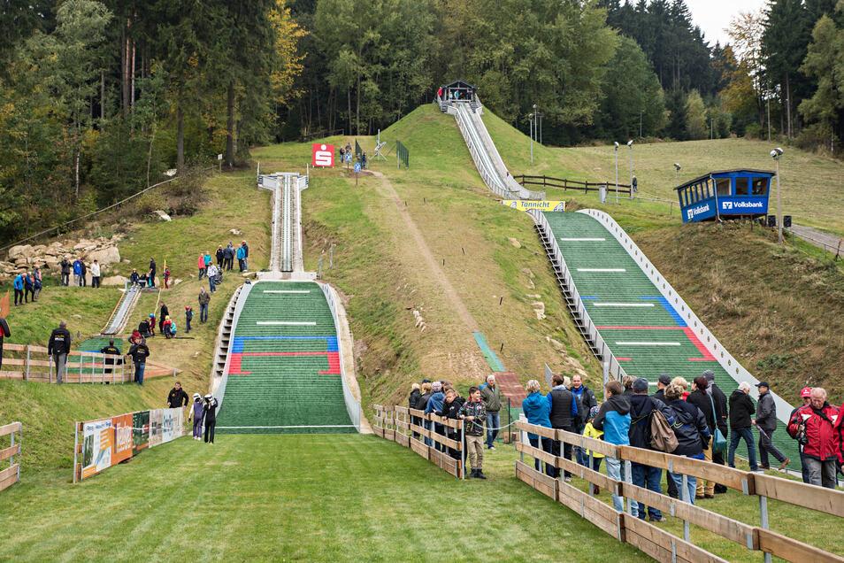 Auch für das Nachwuchszentrum Skisport in Sohland könnte Olympia in Sachsen einen weiteren Schub bedeuten.