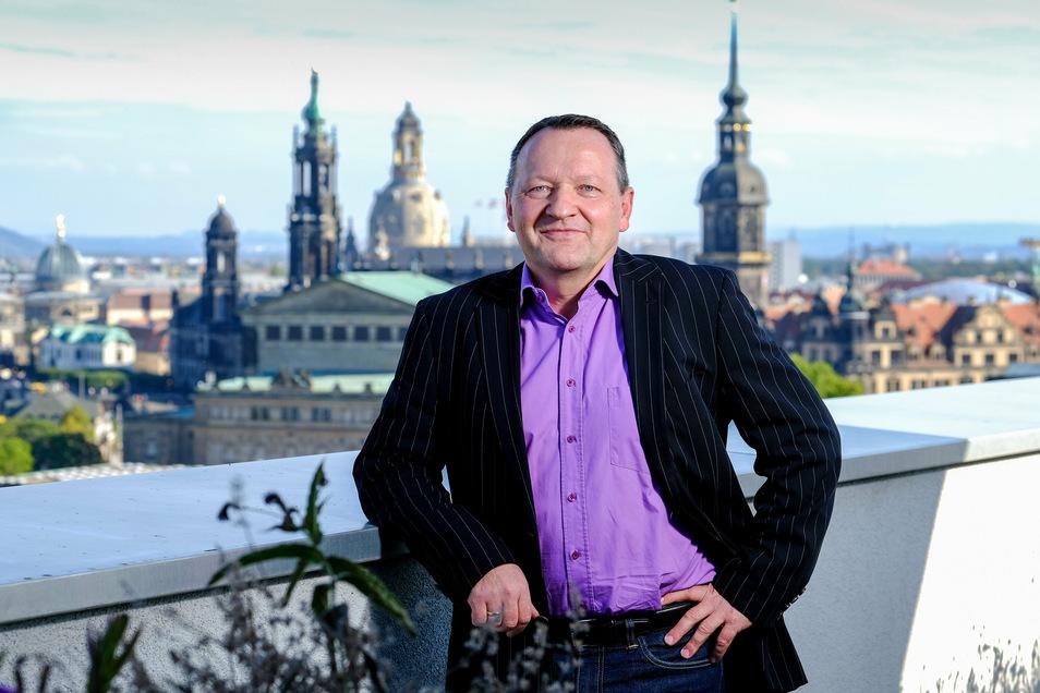 Gert Oestreich will den deutschen Verband voranbringen und den Standort Dresden stärken.