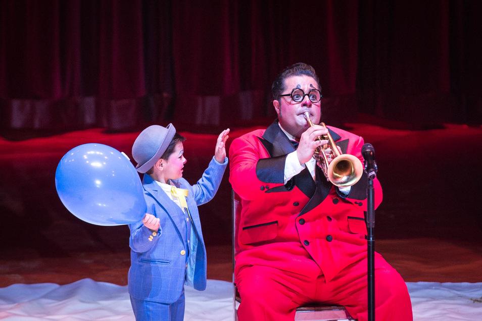 Clownerie von Weltniveau: Die Macher des Weihnachtszirkus hoffen, dass ihnen 2020 nicht noch das Lachen vergeht.