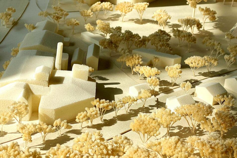 Die elf Modelle zur Errichtung eines Dokumentationszentrums in der alten Nudelfabrik kommen ab Dezember auch ins Stadtmuseum.
