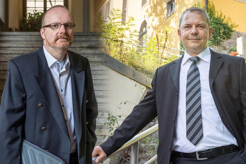 André Bräutigam (links) und Sven Roggmann.