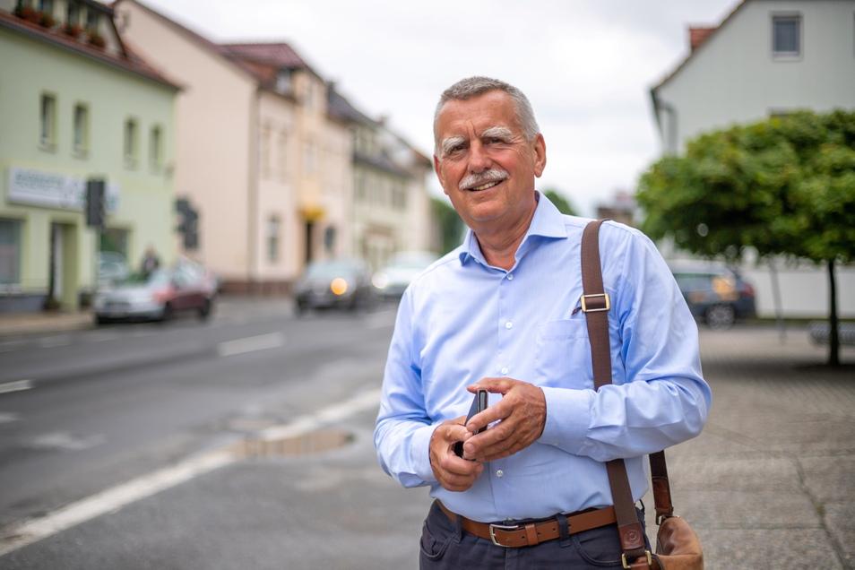 Der Nieskyer Hans-Joachim Tauch engagiert sich im Ärzte-Netz Ostsachsen für mehr Ärzte auf dem Land.