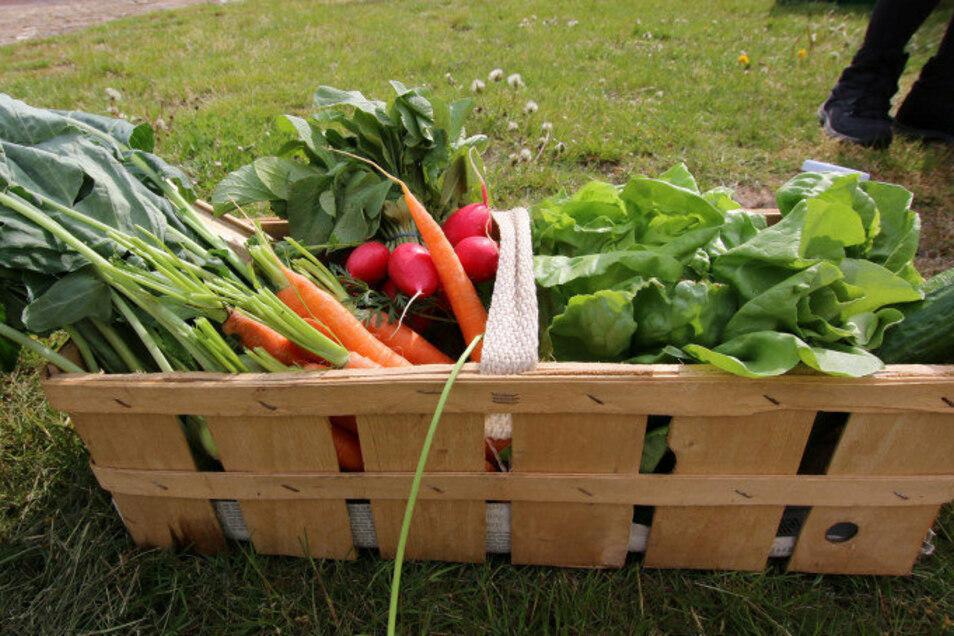 Liegt im Trend: Frisches Gemüse aus der Region frisch vom Bauernmarkt. Gerade in der Corona-Pandemie achten die Verbraucher stärker auf Nachhaltigkeit.