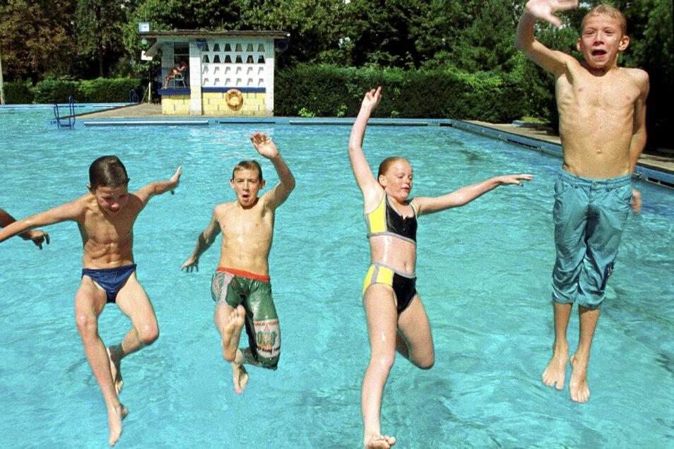 Das wird die Kinder freuen: Das Freibad in Bohnitzsch soll ein 50-Meter-Schwimmbecken bekommen.
