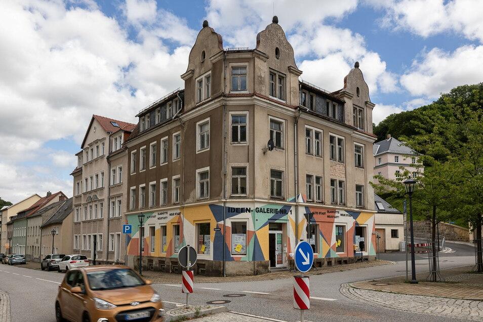 In dieser Woche wurde die Ideen-Galerie Nr. 1 am Moritz-Großmann-Platz in Glashütte eröffnet.